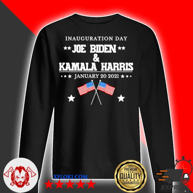 Joe Biden and Kamala Harris inauguration day 2021 retro American flag s sweater