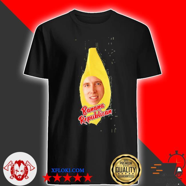 Josh Hawley banana republican shirt
