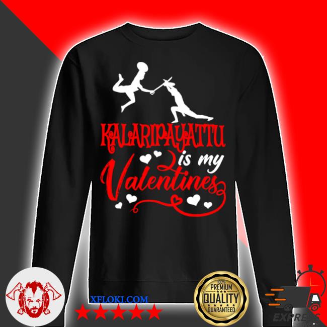 Kalaripayattu is my valentine kalaripayattu valentine's day s sweater