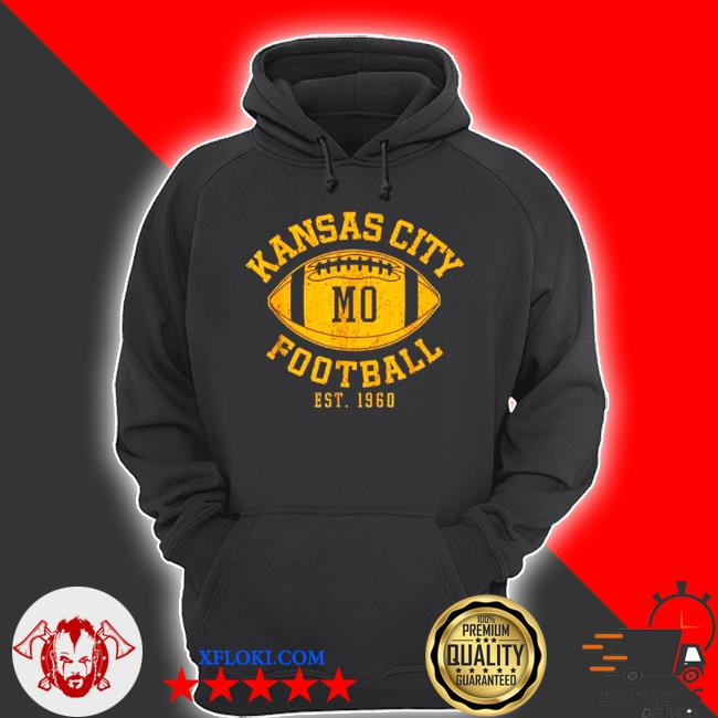 Kansas city football vintage kc missourI chief retro s hoodie