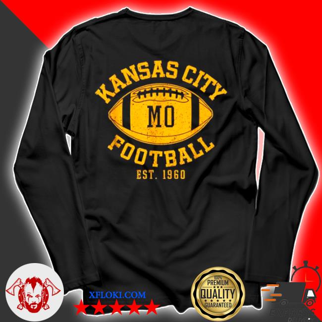 Kansas city football vintage kc missourI chief retro s longsleeve