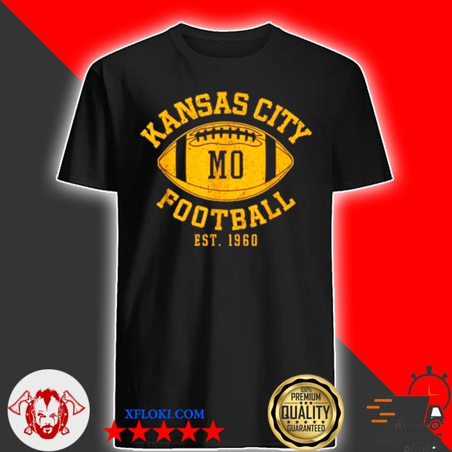 Kansas city football vintage kc missourI chief retro shirt
