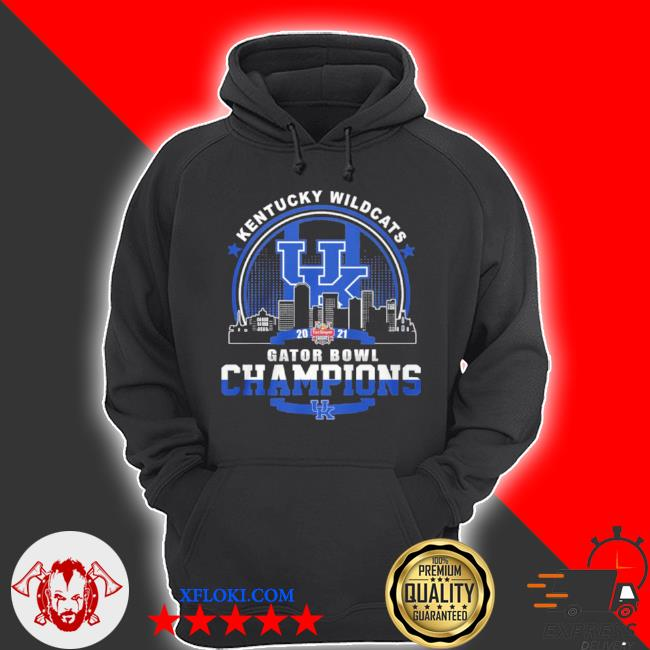 Kentucky wildcats gator bowl champion s hoodie