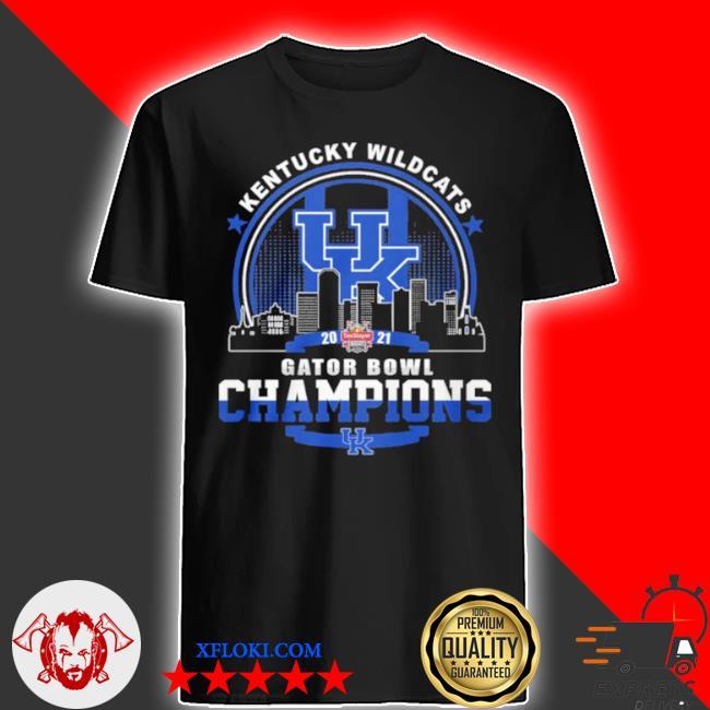 Kentucky wildcats gator bowl champion shirt