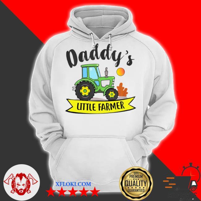 Kids daddys little farmer agrimotor country farm girls boys s hoodie