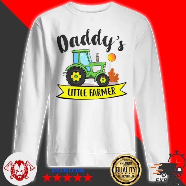 Kids daddys little farmer agrimotor country farm girls boys s sweatshirt