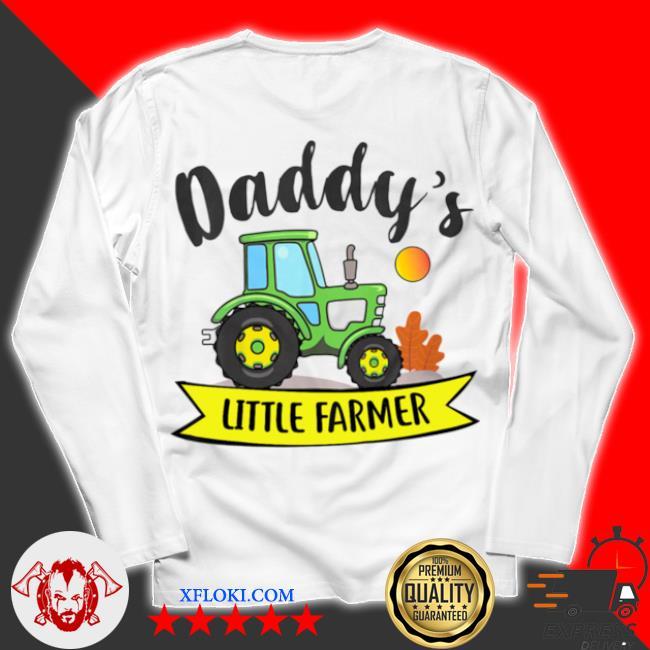 Kids daddys little farmer agrimotor country farm girls boys s unisex longsleeve