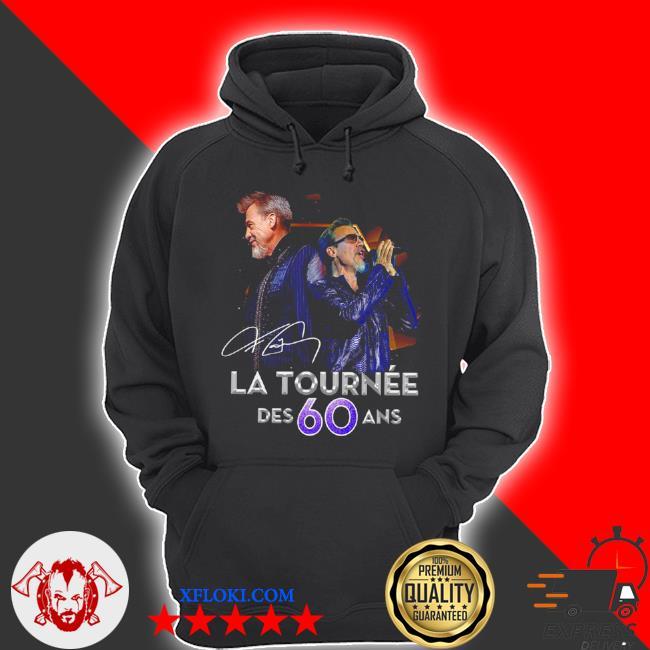 LA tournee des 60 and signature s hoodie