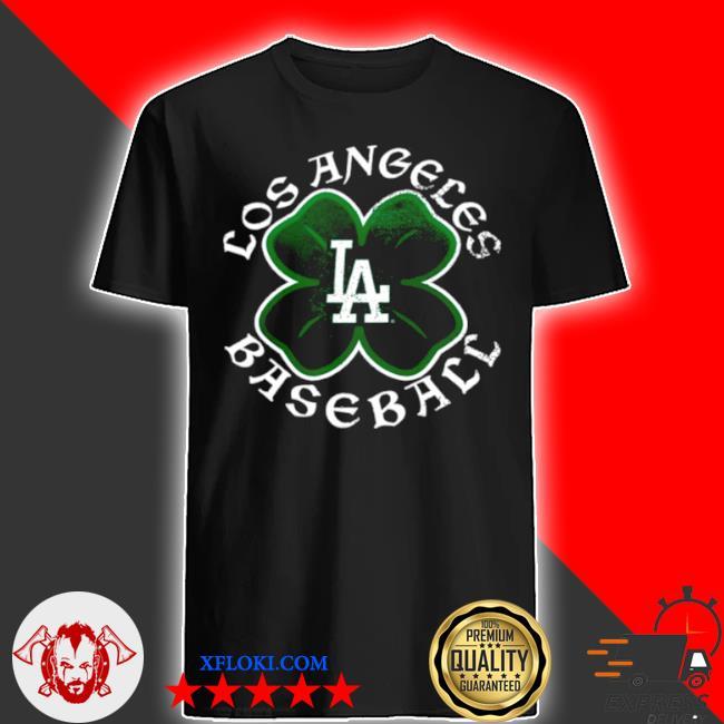 Los angeles baseball clover shirt