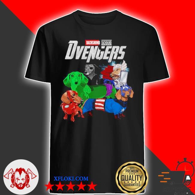 Marvel dachshund dvengers 2021 shirt