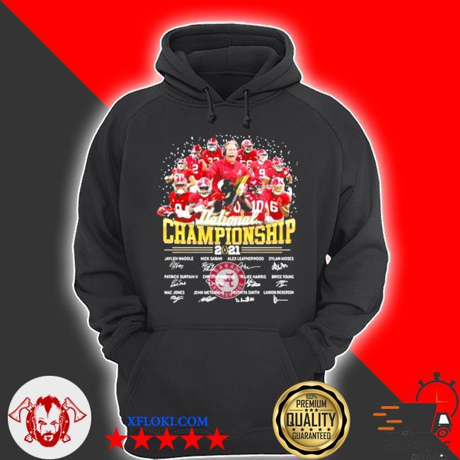 National championship 2021 alabama crimson tide signature s hoodie