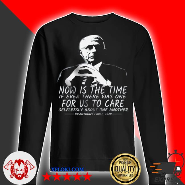 Now is the time if ever there was one for us to care s sweater