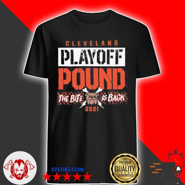 Playoff pound Cleveland football shirt