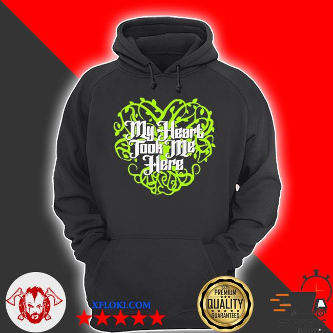 Sean maguire's my heart took me here stands s hoodie