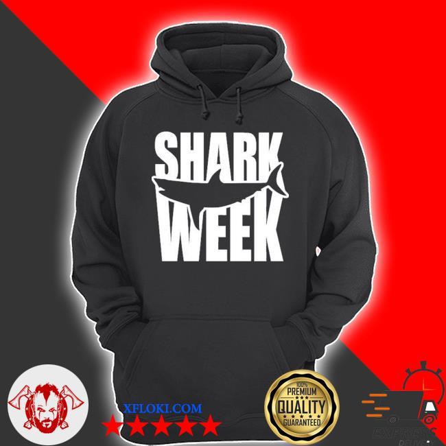 Shark week merch s hoodie