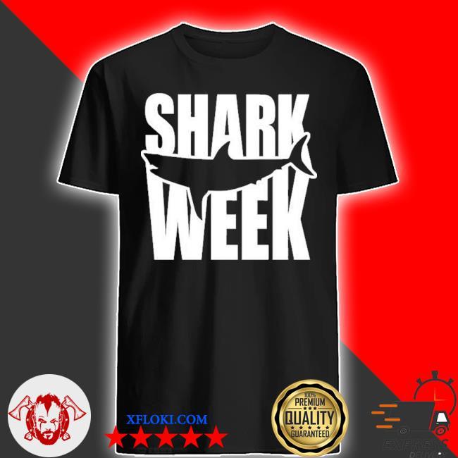 Shark week merch shirt