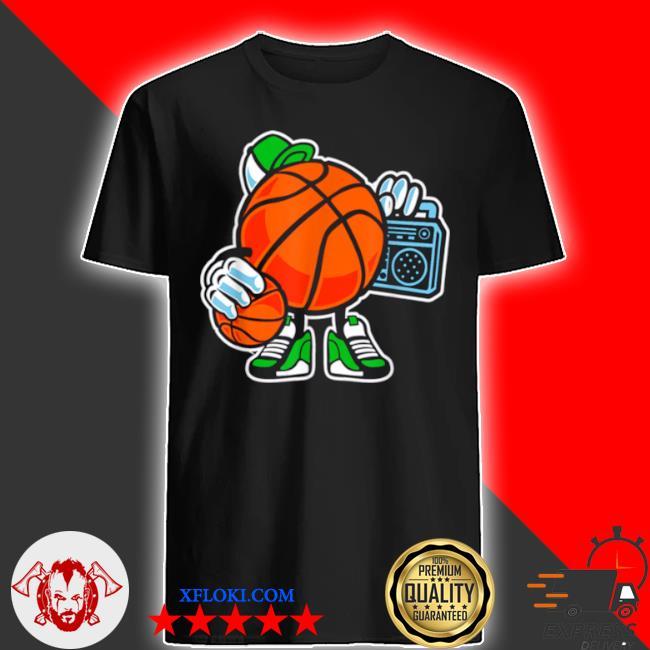 Street basketball love sports action shirt