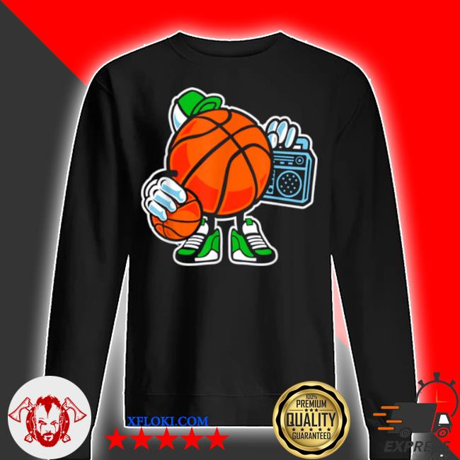 Street basketball love sports action s sweater