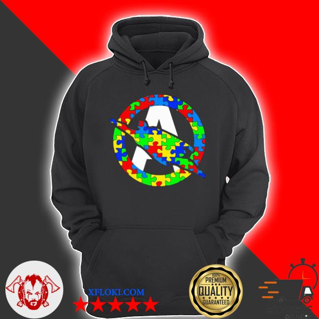 Super autism hero insert colors s hoodie