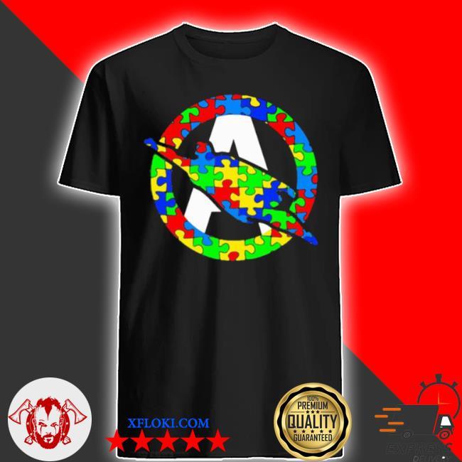Super autism hero insert colors shirt
