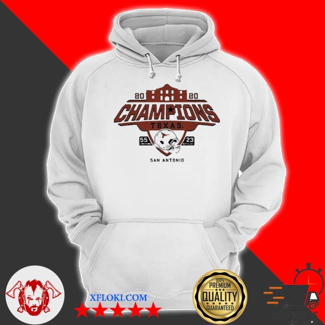 Texas longhorns alamo bowl champions 2021 s hoodie