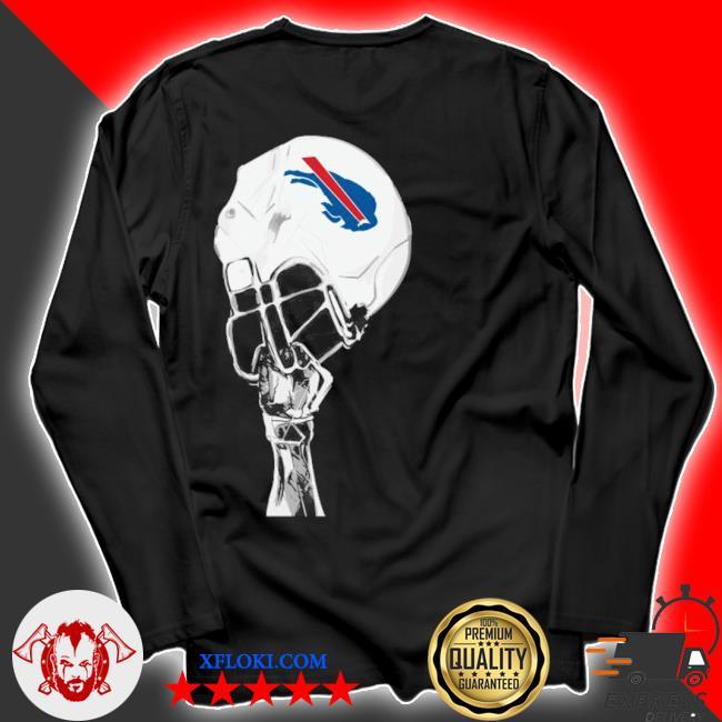 The Buffalo Bills hat helmet 2021 s longsleeve
