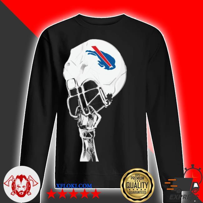 The Buffalo Bills hat helmet 2021 s sweater