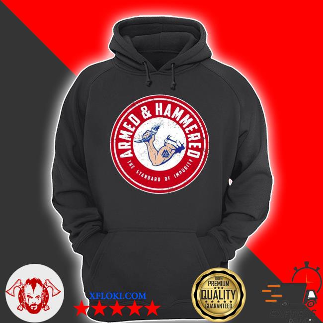 The standard of impurity armed and hammered s hoodie