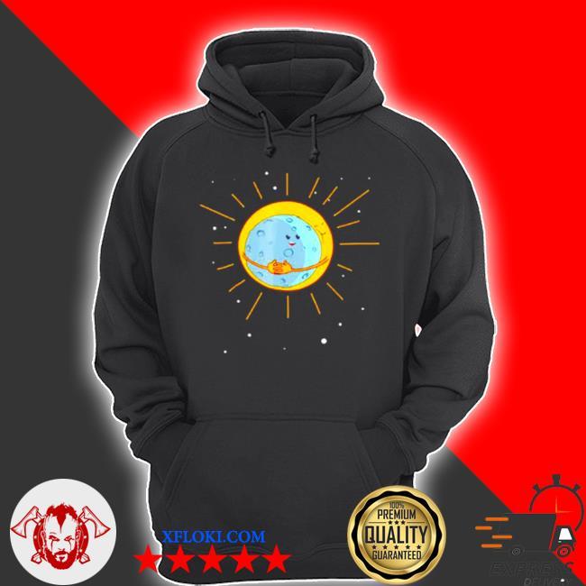 The sun gives the moon a hug s hoodie