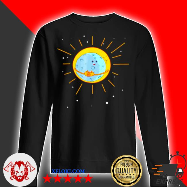 The sun gives the moon a hug s sweater