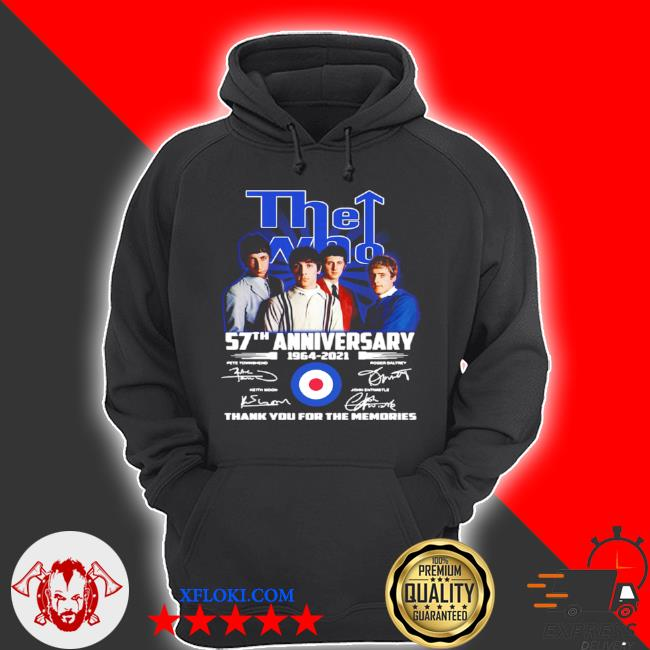 The who 57th anniversary s hoodie