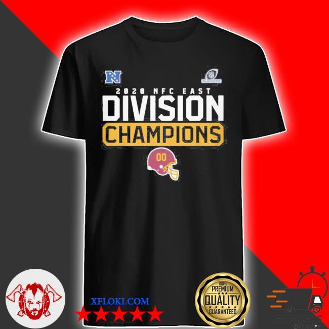 Washington football team 2020 NFC east division champions shirt